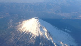 View of Mt Fuji stock footage