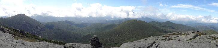 View from Mt. Marcy Stock Photography