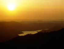 View from Mt.Palomar Stock Photography