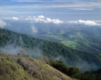 View from Mt. Palomar royalty free stock image
