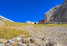 View on Mt. Pilatus in Switzerland Stock Image