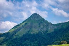 Apuan alps Mt. Prana. View of Mt. Prana, during my trekking in Apuan alps Italy Stock Photos