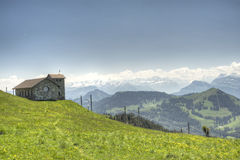 View from Mt. Rigi, Switzerland Royalty Free Stock Photo