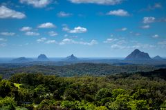 A view from Mt. Tambourine royalty free stock photos