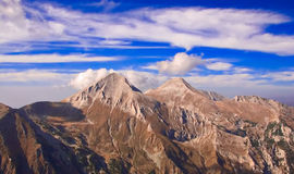 View of Mt. Vihren, the highest peak in Eastern Europe Stock Images