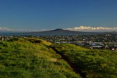 Mt Wellington In Auckland View From The Top New Zealand Stock