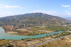 View of Mtskheta, Georgia Royalty Free Stock Photo