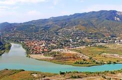 View of Mtskheta, Georgia Royalty Free Stock Image