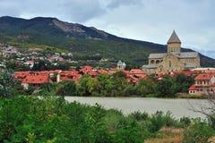 View of Mtskheta historical town, Georgia Stock Images