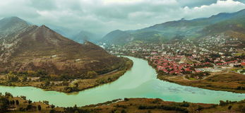 View of Mtskheta Royalty Free Stock Photography