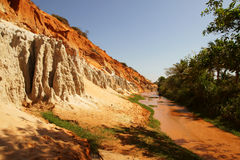 View of muddy tropical river Stock Photo
