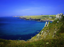 View of Mullion Cove, Lizard Peninsula Royalty Free Stock Images