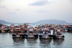 View on Mumbai harbor, India Royalty Free Stock Image