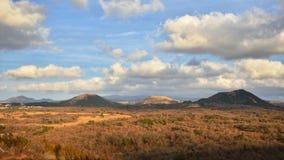 View from Mundoji volcanic cone Stock Photos