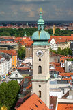 View of Munich city center Stock Image