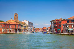 View on Murano canals, Italy Stock Photos