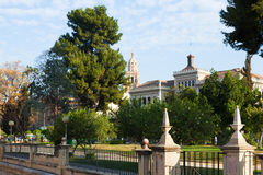 View of Murcia in spring Royalty Free Stock Photos