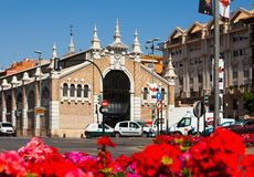 View of Murcia. Veronicas exhibitions hall in spring. MURCIA, SPAIN - APRIL 15, 2014: View of Murcia. Veronicas exhibitions hall in spring Royalty Free Stock Photos
