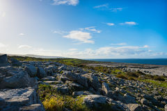 View from Murrooghtoohy looking towards the Atlantic. Ireland royalty free stock photos