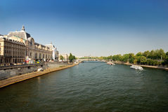 View of the Musée d'Orsay. Pairs Royalty Free Stock Photography