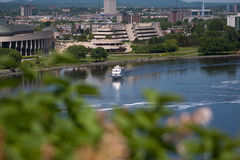 View of the Museum of Civilization in Ottawa Royalty Free Stock Photos