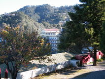 A view of Mussoorie Royalty Free Stock Photo
