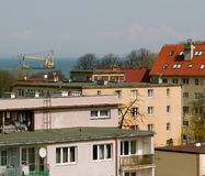 The view from my window. Royalty Free Stock Photography