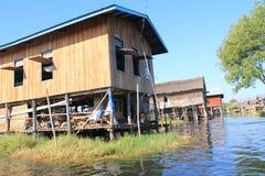 View of Myanmar Inle Lake Stock Photography