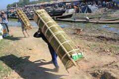 View of Myanmar Inle Lake Stock Images