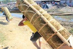 View of Myanmar Inle Lake Royalty Free Stock Image