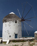 View of Mykonos windmill. Image from Mykonos, Cyclades, Greece Stock Photography