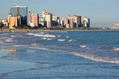 View on Myrtle Beach, SC. View on coast line of Myrtle Beach, SC Royalty Free Stock Images