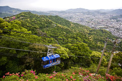 View of Nagasaki Royalty Free Stock Photo