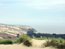 View of Nagliu dune, Lithuania Royalty Free Stock Image