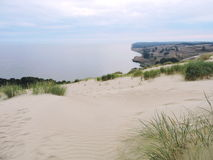 View of Nagliu dune, Lithuania Stock Photography