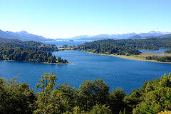 View on Nahuel Huapi national park and Lake - Argentina Royalty Free Stock Photos