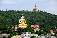 View of Nakhon Sawan Province,Kerewong,Thailand. Stock Photos