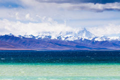 View of Nam Co. Nagqu county Tibet Royalty Free Stock Photo