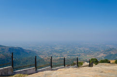 View from Nandi Hills Stock Photography