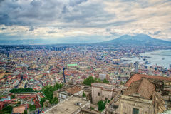 A view of Naples, Italy stock photo