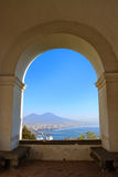 View of Naples,Italy Stock Photography