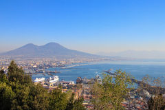 View of naples,Itay Stock Photography