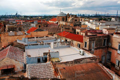 View on Naples old town. Italy Royalty Free Stock Images