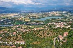 View of Narni. Umbria. Italy. Stock Photo
