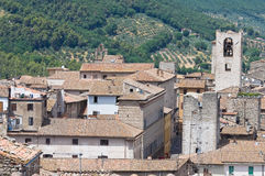 View of Narni. Umbria. Italy. Stock Image