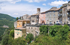 View of Narni. Umbria. Italy. Royalty Free Stock Photo