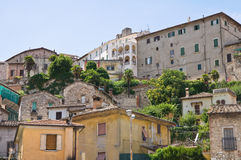 View of Narni. Umbria. Italy. Royalty Free Stock Photography