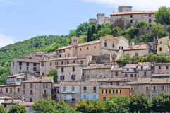 View of Narni. Umbria. Italy. Stock Images