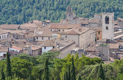View of Narni. Umbria. Italy. Royalty Free Stock Photos