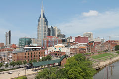 View of Nashville from River Stock Images